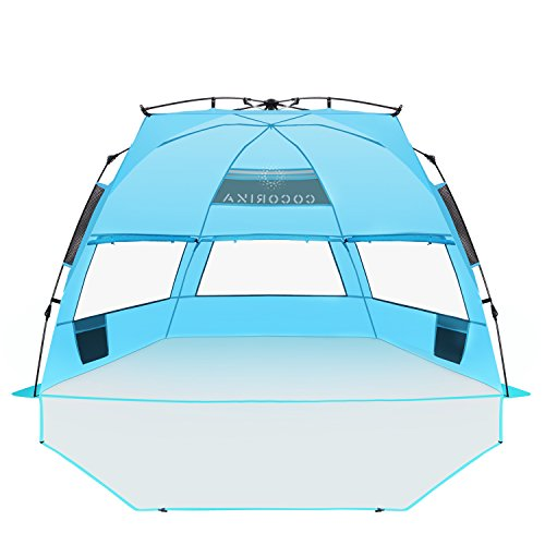 Cocorika X Large Easy Setup Beach Tent Automatic Pop Up
