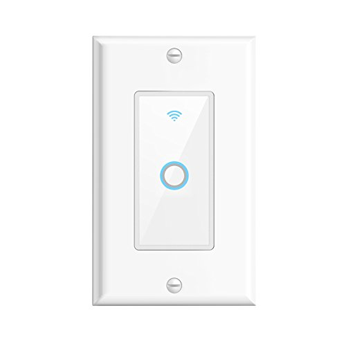 Smart wifi wall switch oittm touch light switch remote - Control lights with smartphone ...